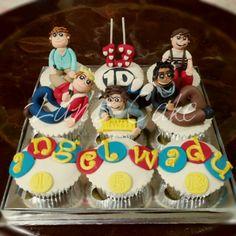 1 direction cupcake set