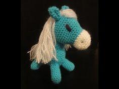 ЛОШАДКА символ 2014 года Часть 2 Вязание крючком HORSE symbol of 2014 Part 2 Crocheting - YouTube