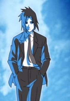 sasuke uchiha suit - Google Search