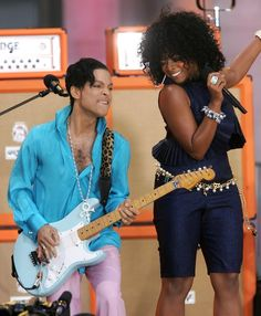 Prince and Támar The Artist Prince, Roger Nelson, Prince Rogers Nelson, Purple Reign, Good Morning America, Beautiful One, The Man, Family Photos, Celebs