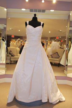 saison blanche bridal gown style 3015, $675