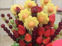 canasta de frutas censilla - YouTube
