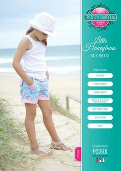 Our collection of girls sewing patterns is full of fun & practical designs. All of our patterns are modern, on-trend designs that you can easily sew at home