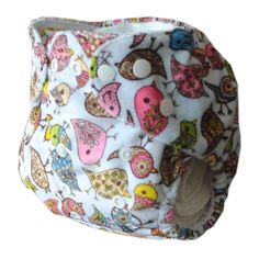 Alva Reusable Washable Baby Cloth Diaper One Size Minky Nappy +1 Insert M31 #ALVA