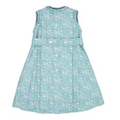 Baby Girls Traditional Romany Style Smocked Dress Pants /& Headband Outfit S19