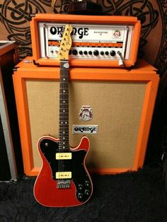 1972 telecaster custom with P90 pickups.