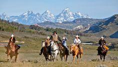 Séjour en ranch aux USA par Rando Cheval - http://www.randocheval.com/Programmes/Pages-Pays/USA-ranchs.html