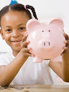 Learn tips for teaching your children basic financial skills. #kids #money