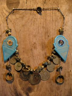 Fatima's Collar Light Blue. by MardiLove on Etsy