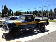 A friend recently came across this vintage Ford near San Jose, CA. After asking around it looks like about 1979 Ford Truck, Rm 1, Trophy Truck, Walker Evans, Vintage Trucks, Cool Trucks, Pickup Trucks, Antique Cars, Classic Cars