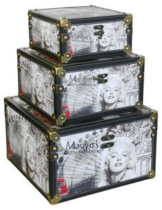 Marilyn Monroe furniture  luggage