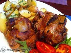 Érdekel a receptje? Kattints a képre! Meat Recipes, Gourmet Recipes, Hungarian Recipes, Hungarian Food, Tandoori Chicken, Favorite Recipes, Meals, Dishes, Cooking