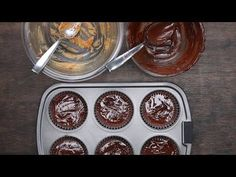 4 easy no-bake desserts peanut butter cups serves 6 ingredient Brownie Desserts, No Bake Desserts, Easy Desserts, Summer Desserts, Summer Recipes, Raw Food Recipes, Dessert Recipes, Strawberry Icebox Cake, Chocolates