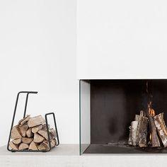 Log Wood Basket - Dark Grey - alt_image_three