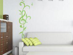 Flor Musical- vinilo decorativo musicales