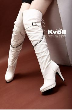 wholesale Ladies boots chains generous fashion high heels X52152