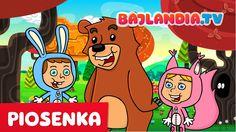Piosenki dla dzieci - Stary niedźwiedź mocno śpi - bajlandia.tv