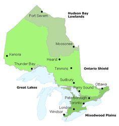 Ontario_Map_Geo   Ontario map, Ontario city, Ontario