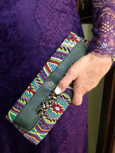 Beautiful clutch by Augusto Castillo
