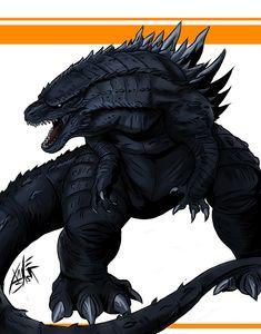 New 2014 Godzilla trailer | Godzilla 2014: Godzilla 2014 Deviant Art Selection