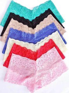 calesson em renda kit c/ 20 caleçon tanga shortinho calessom Lingerie Bonita, Sheer Lingerie, Lingerie Sleepwear, Lingerie Set, Pretty Bras, Pretty Lingerie, Beautiful Lingerie, Cute Underwear, Bra Pattern