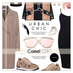 """Wear a Camel Coat!"" by befunky ❤ liked on Polyvore featuring Harris Wharf London, Alexander Wang, Boohoo, NARS Cosmetics, polyvorecommunity, camelcoat and PolyvoreMostStylish"