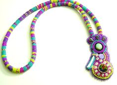 Kokopellli Gone WIld necklace and pendant by Nativebeads on Etsy, $150.00