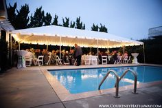 Tented Reception, Reception, Bride & Groom, Reception Dancing, Outer Banks Wedding, OBX Wedding