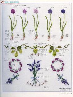 花的刺绣 - 琳2 - Picasa Web Albums ......... ( French knots: Lavender )