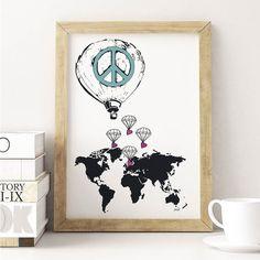 Vi trenger alle litt fred i blant - og det er det vi trenger mest av i denne verden! Vi håper alle får en fredfull helg med venner og familie <3