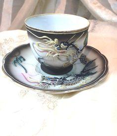 Vintage Dragon Ware Teacup & Saucer