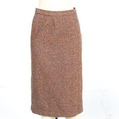 5ebee3fff79 Vintage Hermes Tweed Skirt  56 on EBTH Tweed Skirt