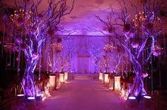 Purple Wedding Aisle/ i want this for my wedding! Wedding Ceremony Ideas, Wedding Aisle Decorations, Wedding Centerpieces, Wedding Gazebo, Wedding Aisles, Wedding Lanterns, Decor Wedding, Outdoor Ceremony, Wedding Themes