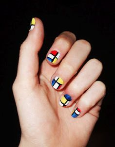 Another nail design tutorial! This time, it's YSL-inspired. You know the iconic Mondrian dress? Well, you can create this on your nails; who knew?