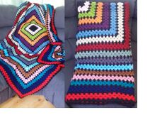 simple granny square blanket- photo only Granny Square Blanket, Crochet Afghans, Hugs, Panda, Simple, How To Make, Big Hugs, Baby Afghans, Crochet Scarfs