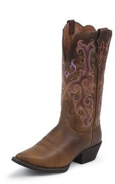 Love these boots  Justin