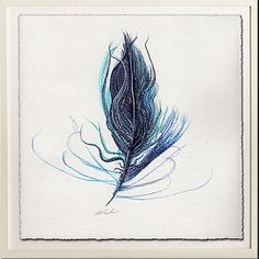 Wild Wishes Shimmery Feather Matted Art Print. The heart never grows old only your body. May your heart remain wild and free to wish what it will.