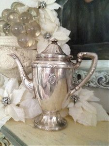 St. Regis Hotel Silver Coffee Pot $245.