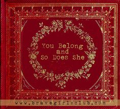 Brave Girls Club - You belong and so does she