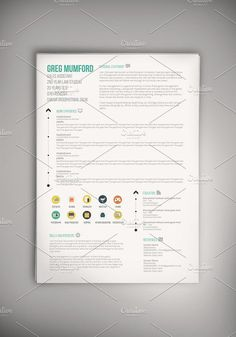 """Print Out Resume Triangle"""" Resume Templateget It At Httpswww.12Resumes ."""