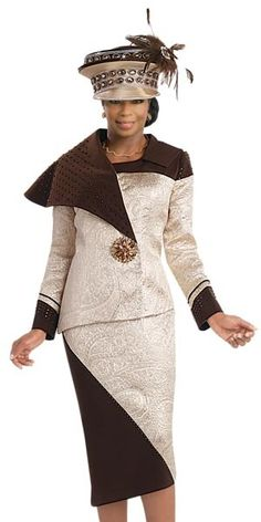 Donna Vinci 5538 Womens Fashion Suit Fall 2016