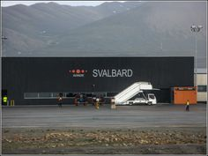 Welcome to the Svalbard airport!