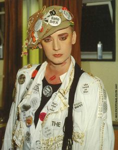 See Boy George pictures, photo shoots, and listen online to the latest music. Boy George, Fashion Line, Fashion Show, Fashion Dolls, Women's Fashion, Leigh Bowery, Schoolboy Q, Village People, New Romantics