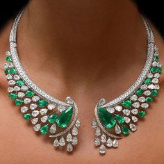 One of many stunning pieces you can find at @cellini_jewelers NYC boutique   What do you call this? Pear Envy? Green Envy? Design Envy?  I know I know! The beauty of this @cellini_jewelers is beyond words!