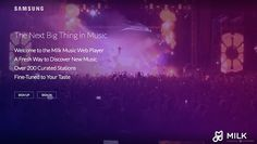 To celebrate the one-year anniversary of its Milk Music streaming/ Internet radio service, Samsung announced that it will now be offered as a web client for PCs, Macs, and Chrome OS machines for free. Users have to create a Samsung account to utilise the Milk Music Web Player  http://perfectgadget4u.blogspot.in/
