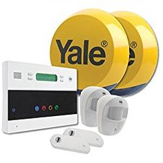 The Yale EF-Series Telecommunicating Alarm Kit gives more than just a noise. Continue reading to find out why. WOW, Just wow. Yale have stepped it up with the EF-Series. Not only is it a wireless system but the sensors come pre-linked. This means holding down a button to link everything together is no longer needed....