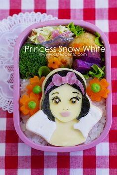 白雪姫のキャラ弁