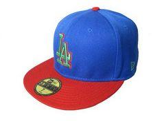 Los Angeles Dodgers New era 59fifty hat (47)  cc47181ed