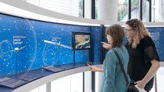 DLR Forum of Space Propulsion exhibit