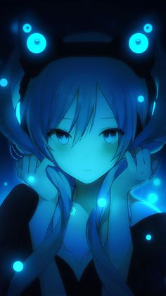 Hatsune Miku Anime Girl 4K Ultra HD Mobile Wallpaper